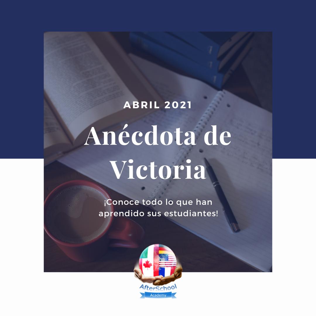 Anécdota de Victoria